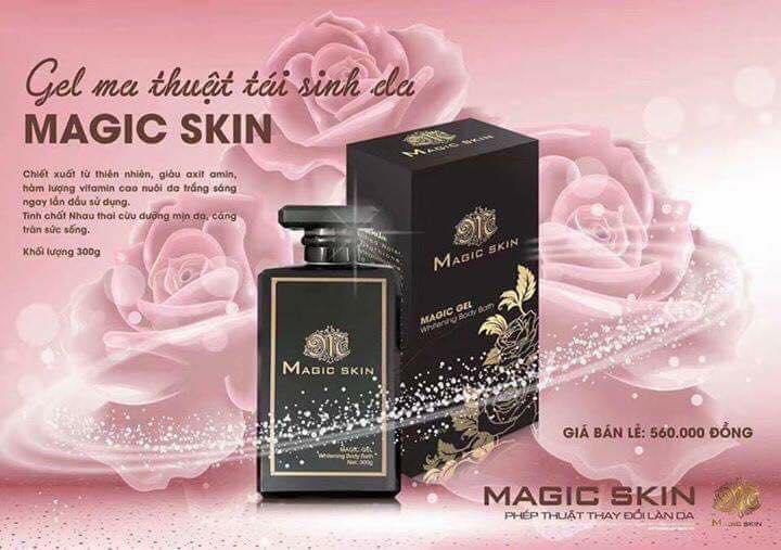 Gel Ma Thuật Tái Sinh Da Magic Skin