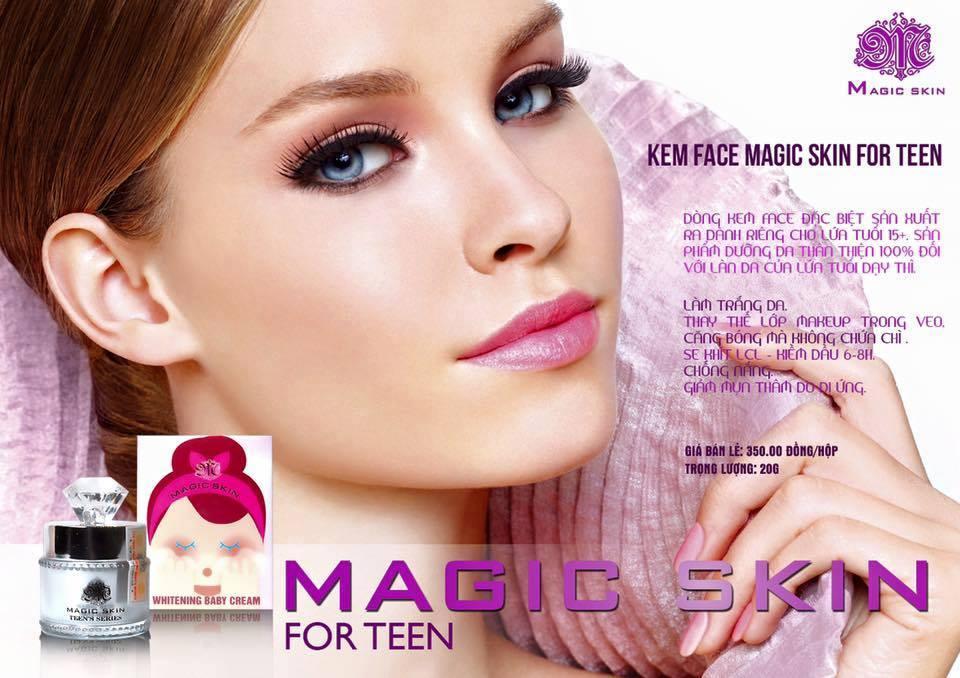 Kem Face Magic Skin Whitening Baby Cream